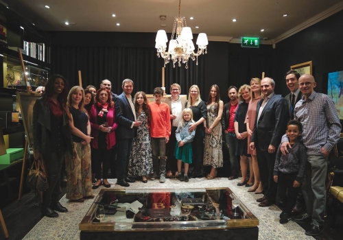 Artbeep Meeting of Masters Event with Backes & Strauss London